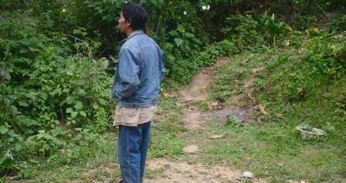 """Como don Macario, los 277 habitantes de Chiapa están estancados en la """"muy alta marginación"""". Foto: BlogExpediente."""