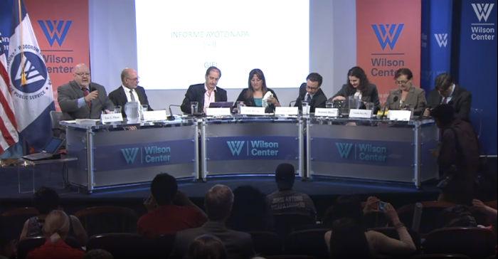 Las declaraciones del funcionario meixcano se dieron en medio de un panel con expertos del GIEI, en Washington. Foto: Especial
