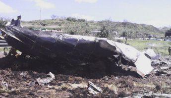 La aeronave era tripulada por cuatro personas. Foto: Archivo/Cuartoscuro