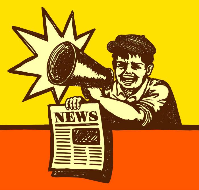 Decir en un libro lo que no dicen los periódicos. Foto: Shutterstock