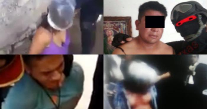 Cuatro casos de tortura evidenciados en un mes. Foto: Capturas/Breitbart