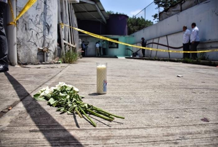 """""""Fue un matadero"""", cuenta el tío de una de las víctimas de la balacera en el bar """"Madame"""". Foto: Yerania Rolón, Blog Expediente"""