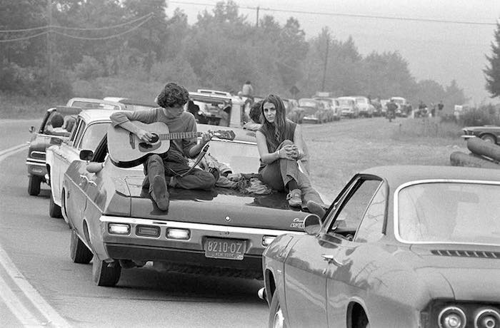 Las imágenes de Wolman cuentan la historia de el festival más importante de música del siglo XX: Woodstock. Foto: Baron Wolman