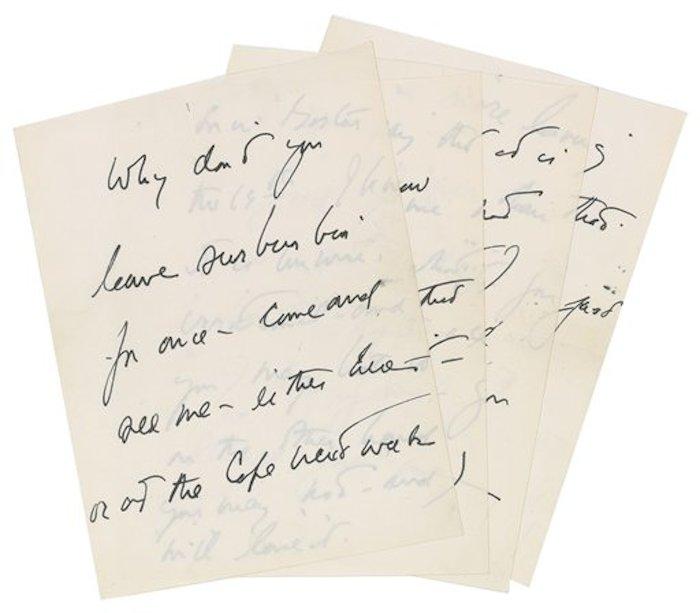 La carta iba con el membrete oficial de la Casa Blanca. Foto Ap