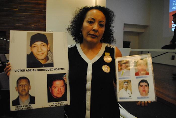 Adriana Moreno, madre de Adrian detalló que la desaparición de su hijo sigue en la impunidad. Foto: Cuartoscuro
