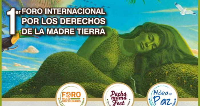 La ciudad de México es sede del primer Foro Internacional por los Derechos de la Madre Tierra. Imagen: Especial.