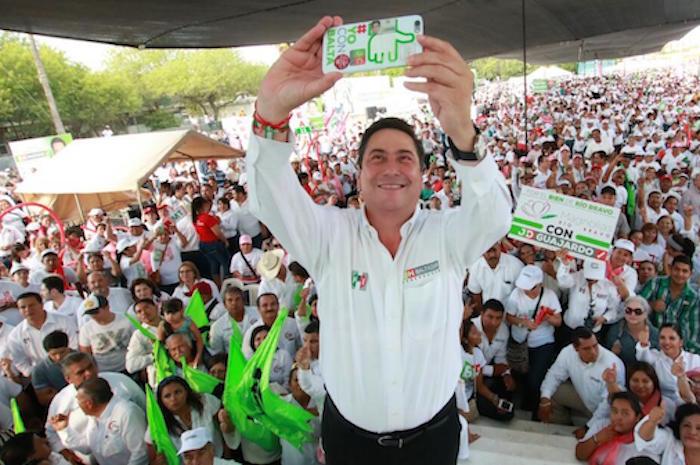 El candidato del PRI, aún no tiene asegurada la victoria. Foto: Cuartoscuro