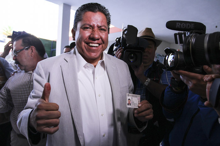 David Monreal Ávila se encuentra aún detrás de Alejandro Tello. Foto: Cuartoscuro