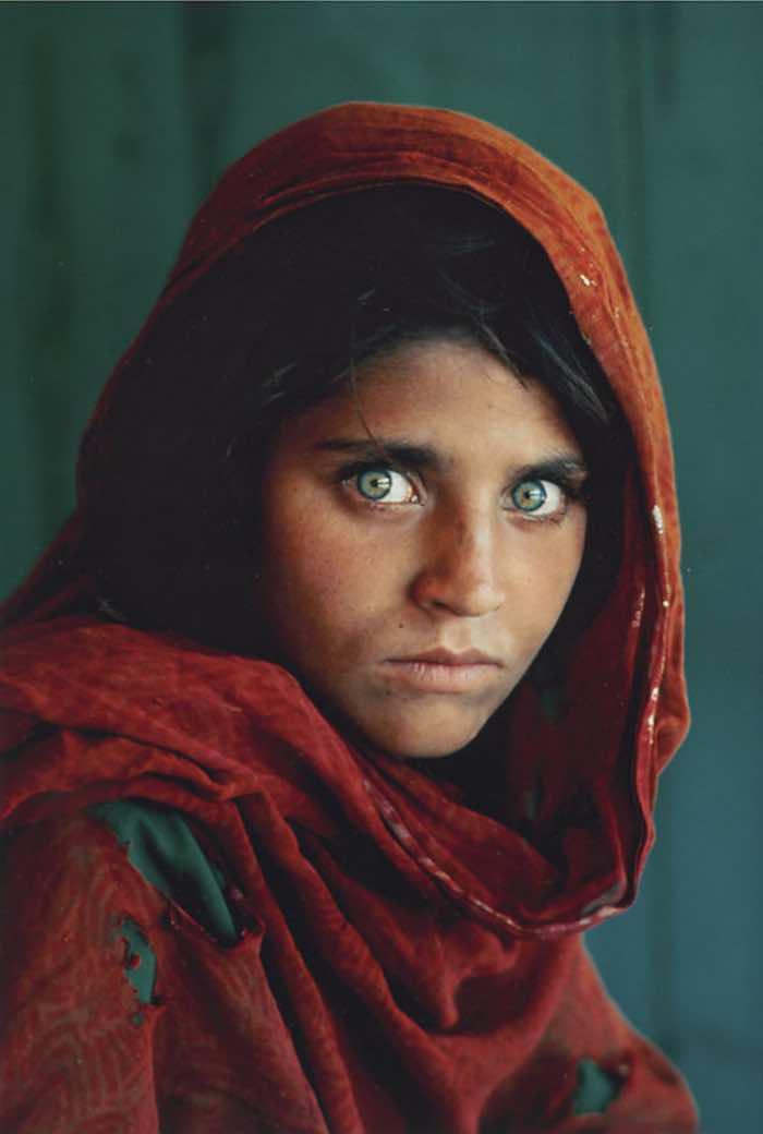 La fotografía de Steve McCurry se ha vuelto todo un emblema de National Geographic. Foto: Flickr
