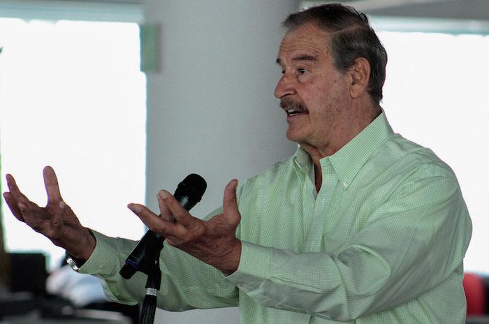 La administración del ex Presidente Vicente Fox coincidio con una de las mejores épocas del petróleo. Foto: Cuartoscuro