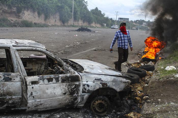 Nueve personas han muerto por la violencia suscitada en Nochixtlán. Foto: Cuartoscuro