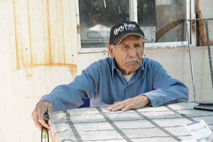 Don José Manuel Payén Favela fue uno de los pioneros del ejido Rosendo. Foto: Noroeste