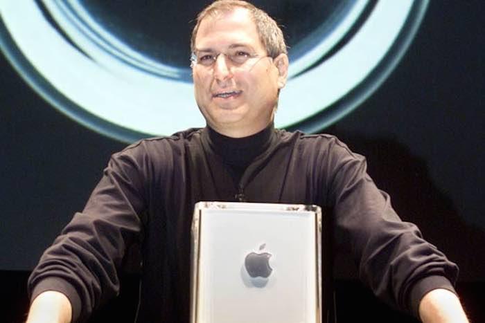 En la imagen, lo que fuera la presentación del Power Mac G4 Cube de Apple. Foto: Archivo TICbeat.