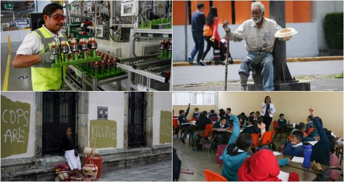 Empleo y educación, claves para recducir la pobreza. Foto: Cuartoscuro.