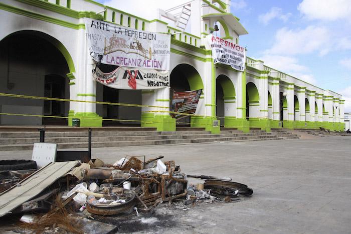 """El Obispo Felipe Arizmedi Esquivel recordó que los cinco obispos del estado de Chiapas han """"insistido ante diversas instancias estatales y federales que se abra y se sostenga el camino del diálogo entre las partes"""". Foto: Cuartoscuro"""