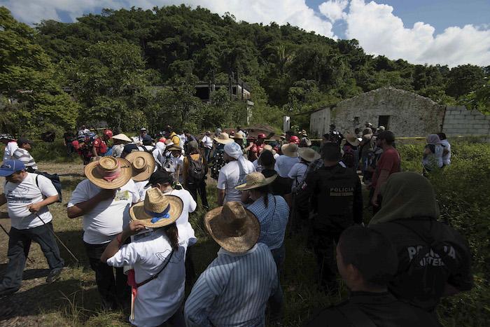 Familiares de desaparecido volviero a realizar una Brigada Nacional de Búsqueda en Veracruz. Foto: Karlo Reyes, Cuartoscuro