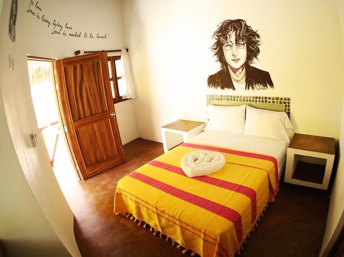 One Love está inspirado en el estilo hippy de los años 60's. Foto cortesía de One Love hostel