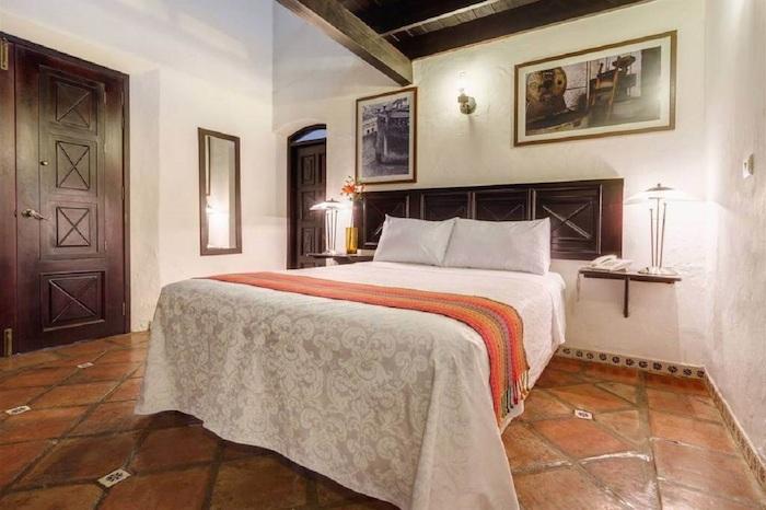 Bellas habitaciones y áreas comunes. Foto cortesía de hotel Casa Real del Café