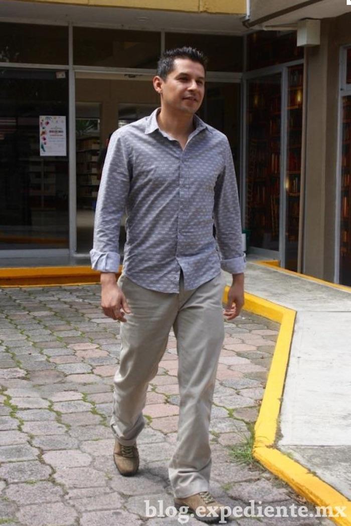 Miguel Ángel Mateos denuncia que fue víctima de tortura por parte de policías veracruzanos para obligarlo a que se declarara culpable del asesinato de la sobrina del Arzobispo de Xalapa. Foto: Blog Expediente