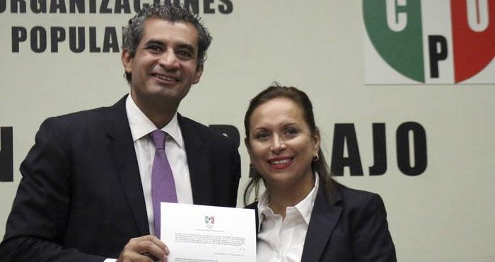 """Enrique Ochoa Reza presentó su renuncia a la dirección general de la CFE, para """"contender"""" por la dirigencia del PRI. Foto: Cuartoscuro"""