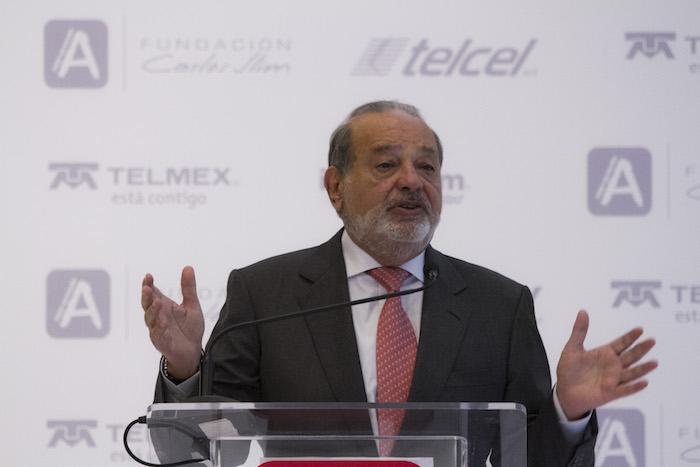El empresario mexicano Carlos Slim. Foto: Cuartoscuro
