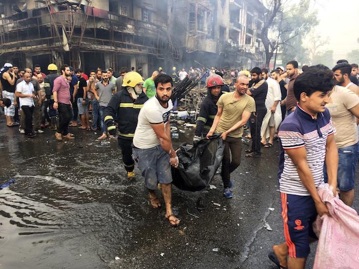 Atentados dejan 130 muertos en Irak