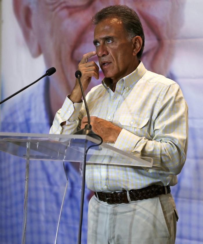 El Gobernador electo de Veracruz, Miguel Ángel Yunes Linares. Foto: Cuartoscuro
