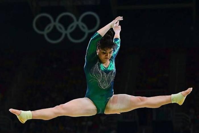 #NoSeVale Critican a gimnasta mexicana por