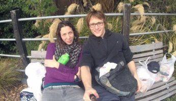 Su acompañante murió en la caida, ella pudo sobrevivir. Foto: Policia de Nueva Zelanda/police.govt.nz