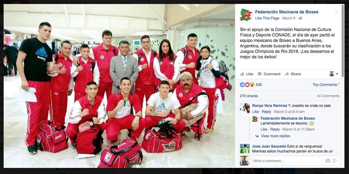 Foto: Federación Mexicana de Boxeo
