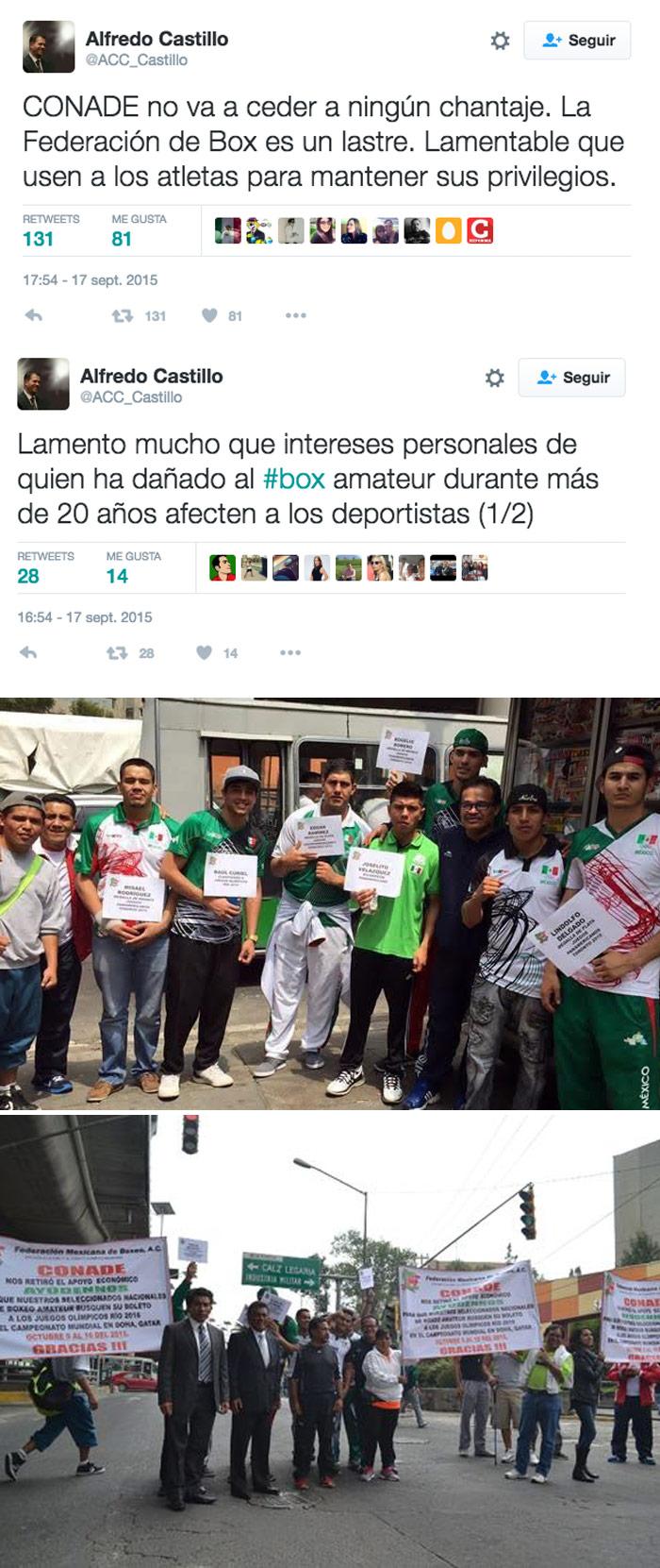 Fotos: Federación Mexicana de Boxeo