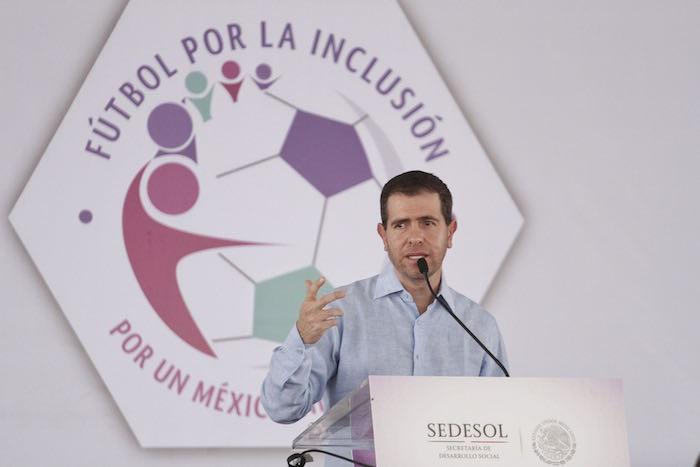 Alfredo Castillo ha sido duramente críticado por el bajo rendimiento de la delegación mexiana en Río. Foto: Isaac Esquivel, Cuartoscuro