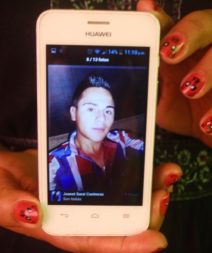 Carlos, de 20 años de edad, desaparecido en diciembre de 2015 en Veracruz, y presuntamente asesinado en enero pasado. Foto: BlogExpediente