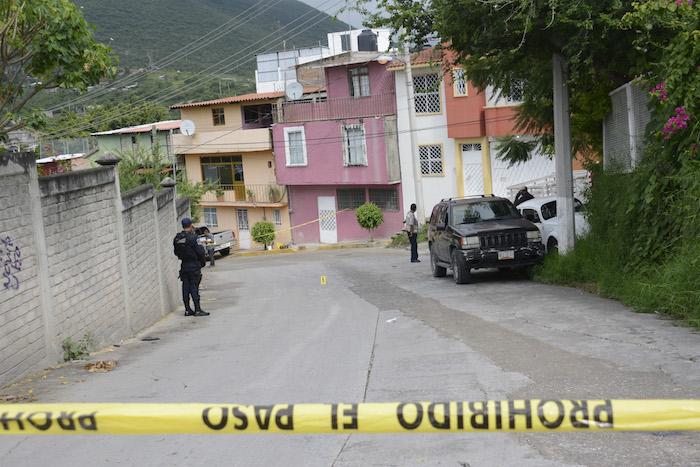 Tres casas fueron baleadas con armas de alto poder entre la madrugada y la mañana de este miércoles. Foto: Cuartoscuro