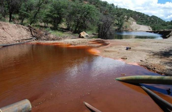 Las consecuencias se centraron principalmente en el arroyo Tinajas, el río Bacanuchi y el río Sonora, lo que afectó a los municipios aledaños. Foto: Especial
