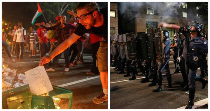 Rousseff: Voten por la democracia, no apoyen un golpe de Estado
