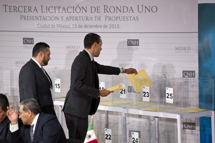 Tercera licitación de la Ronda Uno. Foto: Cuartoscuro.