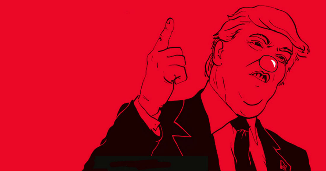 Donald Trump, un imbécil de cuidado. Foto: Especial