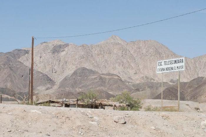 Así el territorio actual de la Sierra Cucapá. Foto: Lucía Treviño