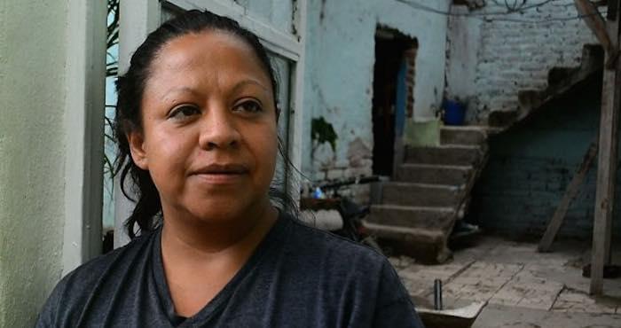 María del Carmen, madre de César Eduardo. Foto: César Solórzano, Zona Franca.