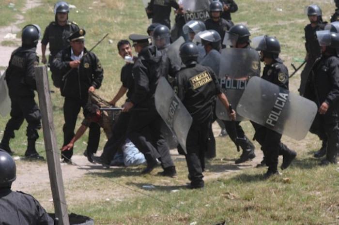 Uso excesivo de la fuerza en el operativo causó revuelo a nivel internacional. Foto: Cuartoscuro