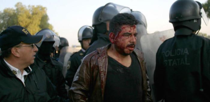 Dos muertos y 217 detenidos, el saldo. Foto: Cuartoscuro