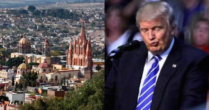 San Miguel de Allende declara persona non grata a Donald Trump