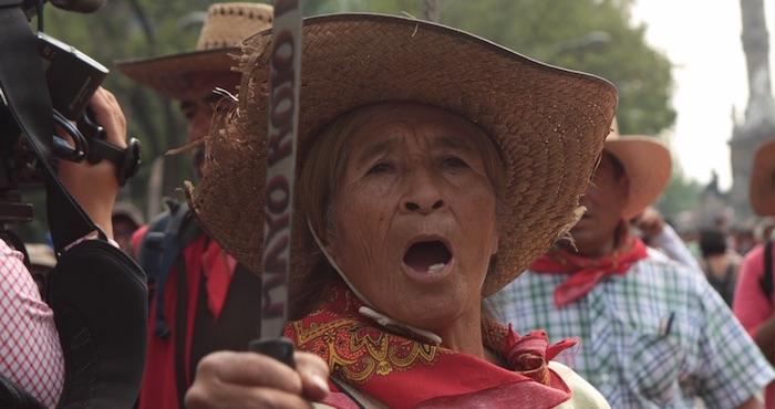 Habitantes de San salvador Atenco Foto: Valentina López / SinEmbargo
