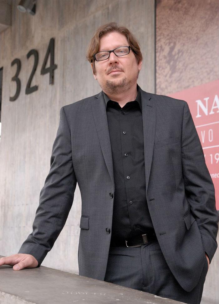 Javier Guerrero, autor y académico venezolano. Foto: UDP