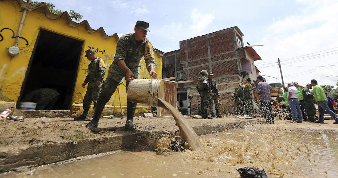 Al menos 4 muertos por lluvias en Chiapas y Jalisco