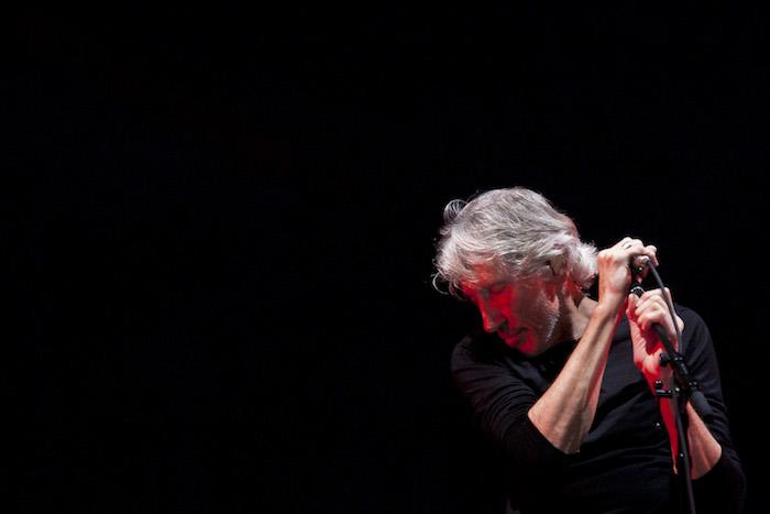 El músico británico Roger Waters ofreció esta noche su primer concierto, de tres, en la Ciudad de México. Foto: Cuartoscuro