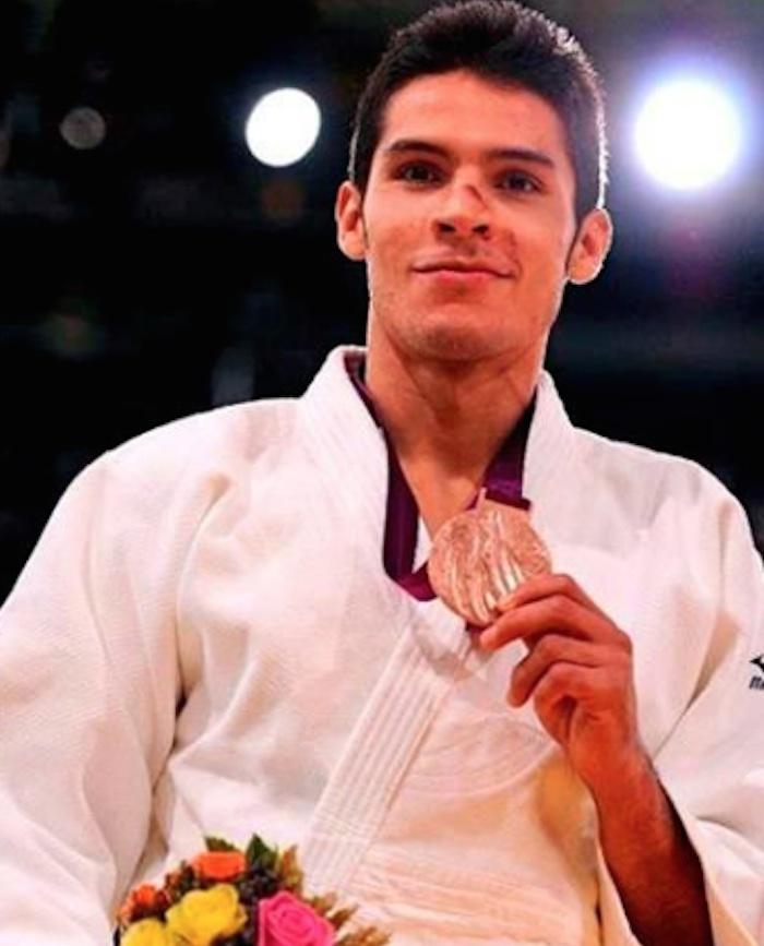 Eduardo Adrián Ávila Sánchez, medalla de oro en judo. Foto: @CONADIS_MX
