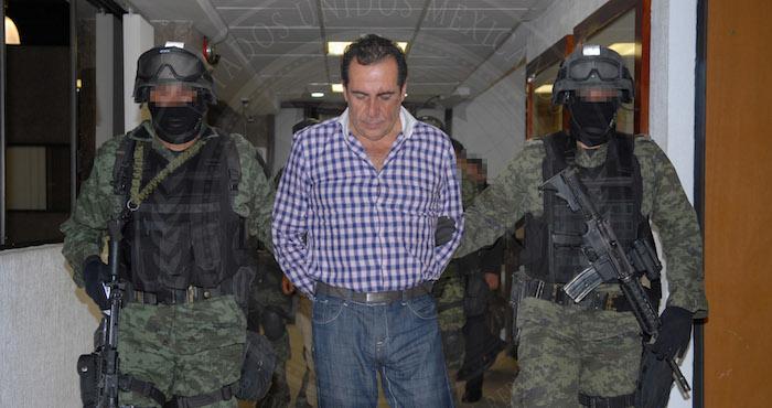 Héctor Beltrán Leyva, ingresando a la Subprocuraduría Especializada en Investigación de Delincuencia Organizada (SEIDO) de la PGR en 2014. Foto: Cuartoscuro