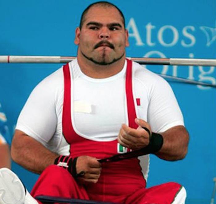 José de Jesús Castillo, medalla de bronce en levantamiento de potencia. Foto: @CONADIS_MX